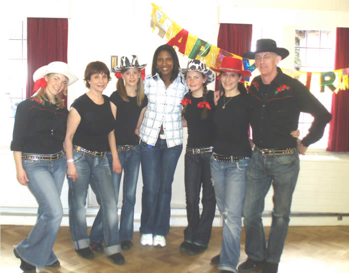 DENISE LEWIS PARTY FULL GROUP